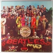 LP - The Beatles - Sgt. Pepper's Lonely Hearts Club Band - + cut-out card