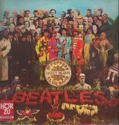 LP - The Beatles - Sgt. Pepper's Lonely Hearts Club Band - no cut-out card