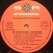 LP - The Beatles - The World's Best - small labels