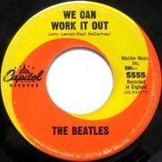 7inch Vinyl Single - The Beatles - We Can Work It Out / Day Tripper - CAPITOL SWIRL