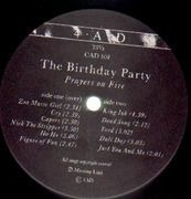LP - The Birthday Party - Prayers On Fire