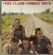 LP - The Clash - Combat Rock - + Poster