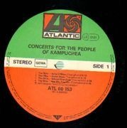 Double LP - The Clash, Elvis Costello a.oq - Concerts For The People Of Kampuche.