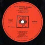 LP - Dave Brubeck Quartet - Angel Eyes