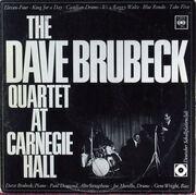 LP - The Dave Brubeck Quartet - At Carnegie Hall