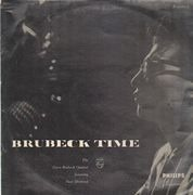 LP - The Dave Brubeck Quartet - Brubeck Time - Black Philips; tip-on cover