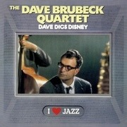 LP - The Dave Brubeck Quartet - Dave Digs Disney