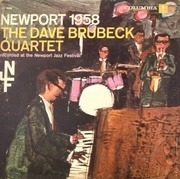 LP - The Dave Brubeck Quartet - Newport 1958