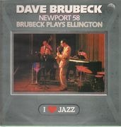 LP - The Dave Brubeck Quartet - Newport 58/Brubeck Plays Ellington