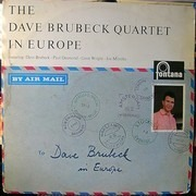 LP - The Dave Brubeck Quartet - In Europe