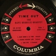 LP - The Dave Brubeck Quartet - Time Out