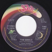 7'' - The Deele - Two Occasions (Vocal Version) / Two Occasions (Instrumental)