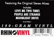LP - The Doors - Strange Days - -180GR-