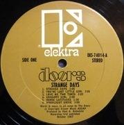 LP - The Doors - Strange Days - ORIGINAL TAN US STEREO CTH1 CTH2