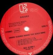 Double LP - The Doors - Weird Scenes Inside The Gold Mine - RED LABELS