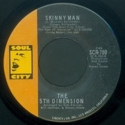 7'' - The Fifth Dimension - Blowing Away / Skinny Man