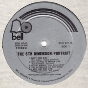 LP - The Fifth Dimension - Portrait - Gatefold