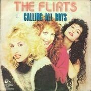7'' - The Flirts - Calling All Boys
