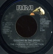 7'' - The Friends Of Distinction - Grazing In The Grass / Going In Circles