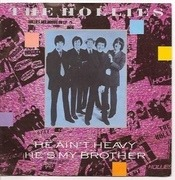 7'' - The Hollies - He Ain't Heavy, He's My Brother - Silver Injection Labels