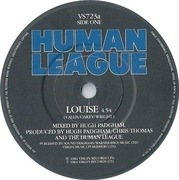 7'' - The Human League - Louise - Glossy Card Sleeve