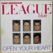 7'' - The Human League - Open Your Heart - Knock-Out Centre