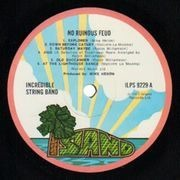 LP - The Incredible String Band - No Ruinous Feud