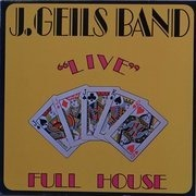 LP - The J. Geils Band - 'Live' Full House