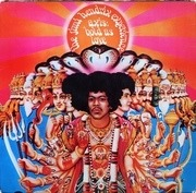 LP - The Jimi Hendrix Experience - Axis: Bold As Love - original 1st uk mono