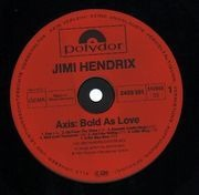 LP - Jimi Hendrix Experience - Axis: Bold As Love