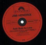 LP - Jimi Hendrix Experience - Axis: Bold As Love