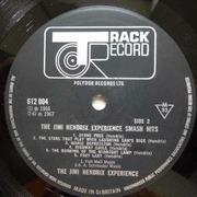 LP - Jimi Hendrix Experience - Smash Hits