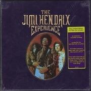 LP-Box - The Jimi Hendrix Experience - 8 LP Box Set - still sealed, velvet box