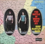 LP - Keef Hartley Band - The Battle Of North West Six - original 1st german