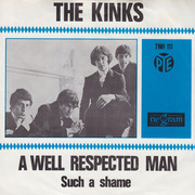 7'' - The Kinks - You Really Got Me / A Well Respected Man