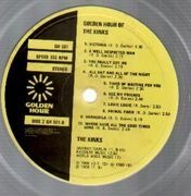 LP - The Kinks - Golden Hour Of The Kinks - Embossed Cover Original Black/Yellow Labels