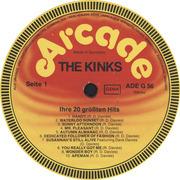 LP - The Kinks - Ihre 20 Größten Hits
