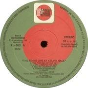 LP - The Kinks - Live At Kelvin Hall - Spain