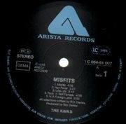 LP - The Kinks - Misfits - Gatefold