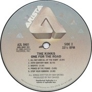 Double LP - The Kinks - One For The Road - USA PRESSING