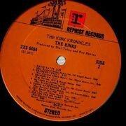 Double LP - The Kinks - The Kink Kronikles - REPRISE USA