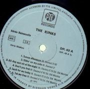 Double LP - The Kinks - The Kinks