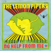 7'' - The Lemon Pipers - Green Tambourine / No Help From Me