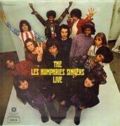 LP - The Les Humphries Singers - Live