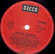 LP - The Les Humphries Singers - Seasons Greetings