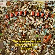 LP - The London Mood Orchestra & Singers - Happy Day