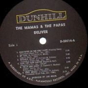 LP - The Mamas & The Papas - Deliver