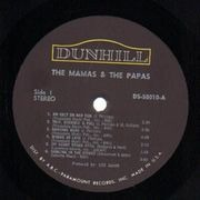 LP - The Mamas & The Papas - The Mamas & The Papas - original us