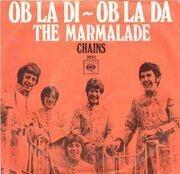 7'' - The Marmalade - Ob-La-Di Ob-La-Da / Chains