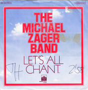 7'' - The Michael Zager Band - Let's All Chant / Love Express